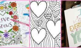 10 Free Valentines Day Colouring Pages for Adults