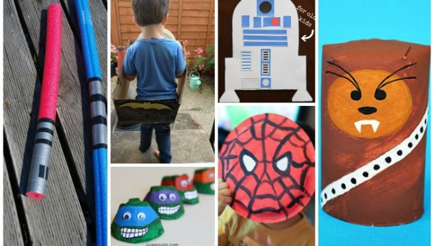 30 Cool Craft Ideas for Boys