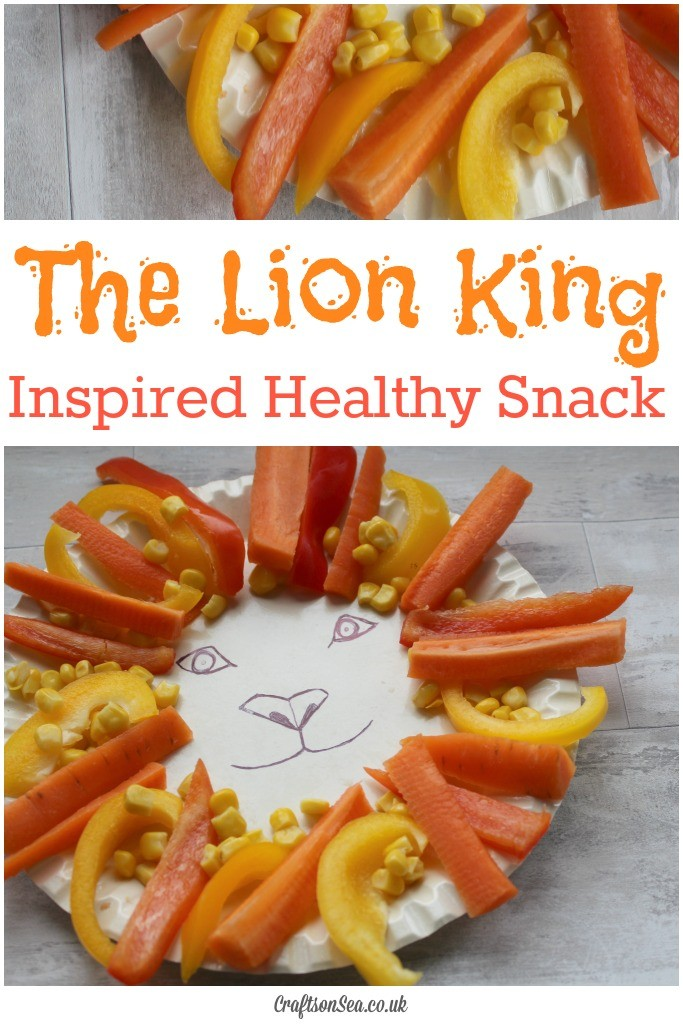 the lion king inspired snack