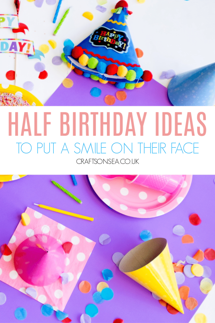 half birthday ideas for kids