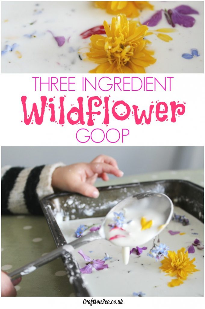 three ingredient flower goop