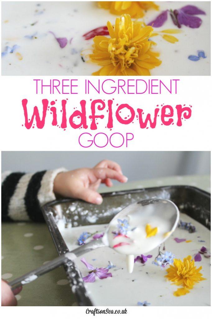 three ingredient flower goop