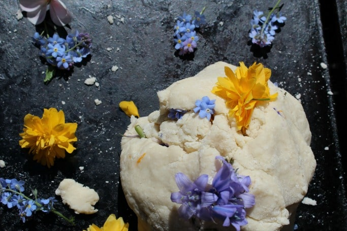 flower playdough