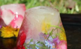 Frozen Flowers Sensory Ice Play