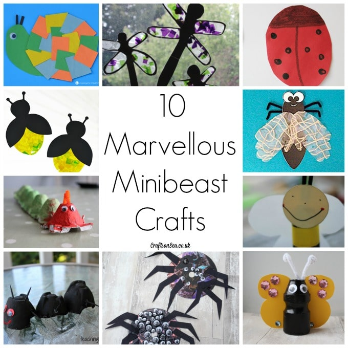 minibeast crafts for kids