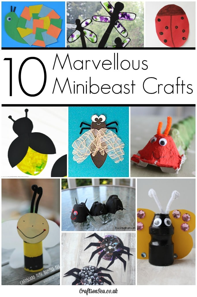 Minibeast Crafts For Early Years