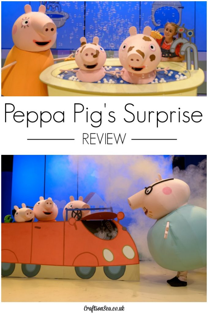 peppa pigs surprise review