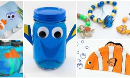 10 Finding Dory Crafts Your Kids Will Love!