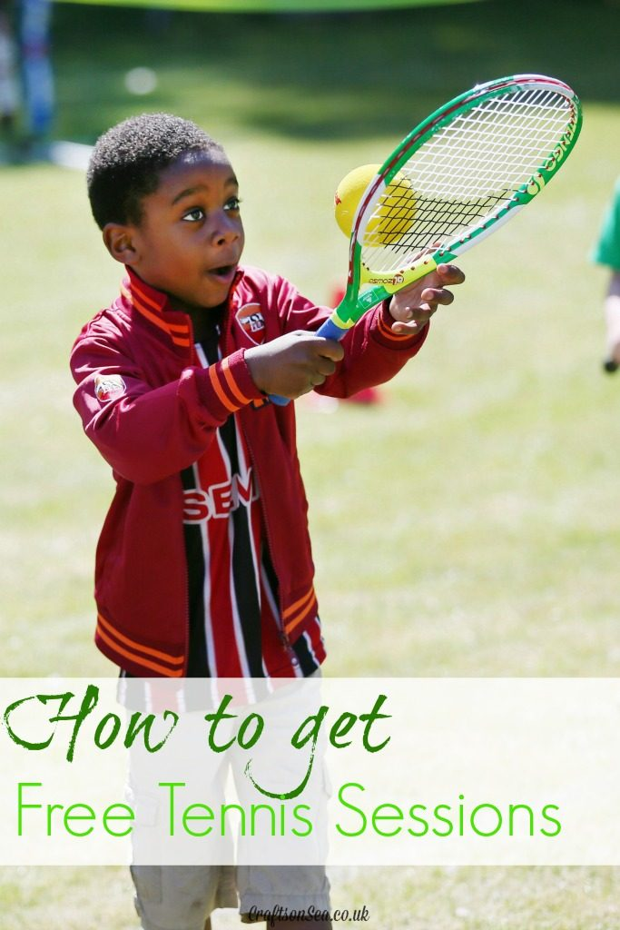 How to get free tennis sessions