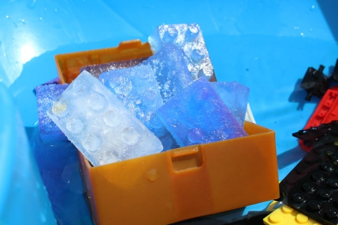 lego ice play treasure
