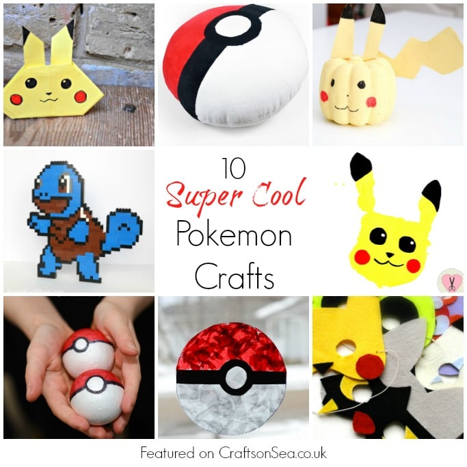 Fun Pokemon Diy Crafts