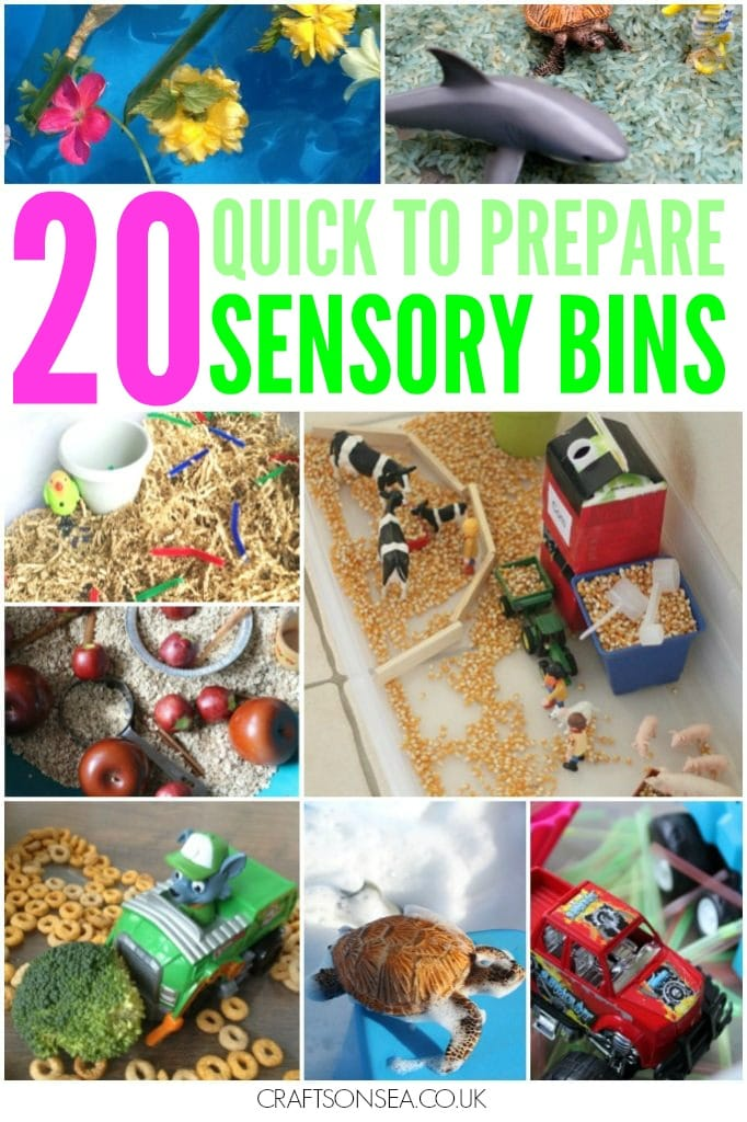 easy to make sensory play ideas for kids