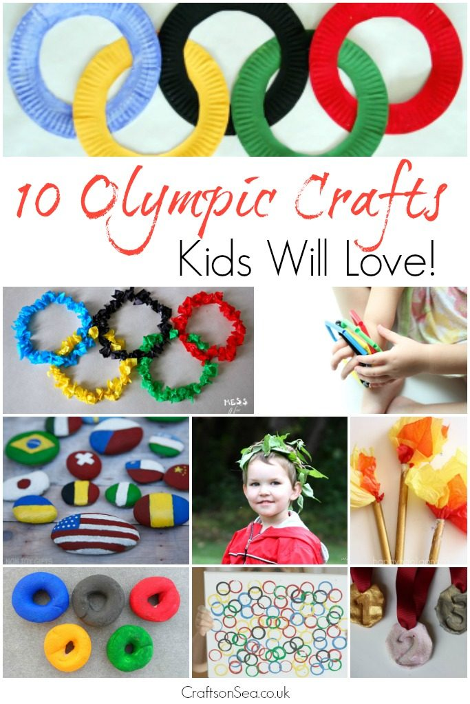 10 Olympic Crafts Kids Will Love Crafts On Sea