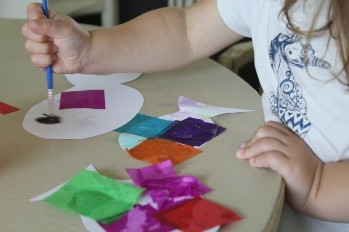 rainbow fish craft for preschoolers