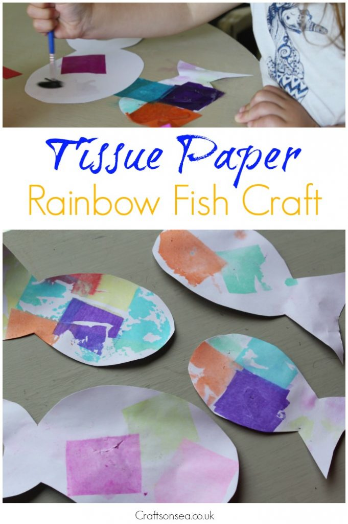 rainbow fish craft toddlers