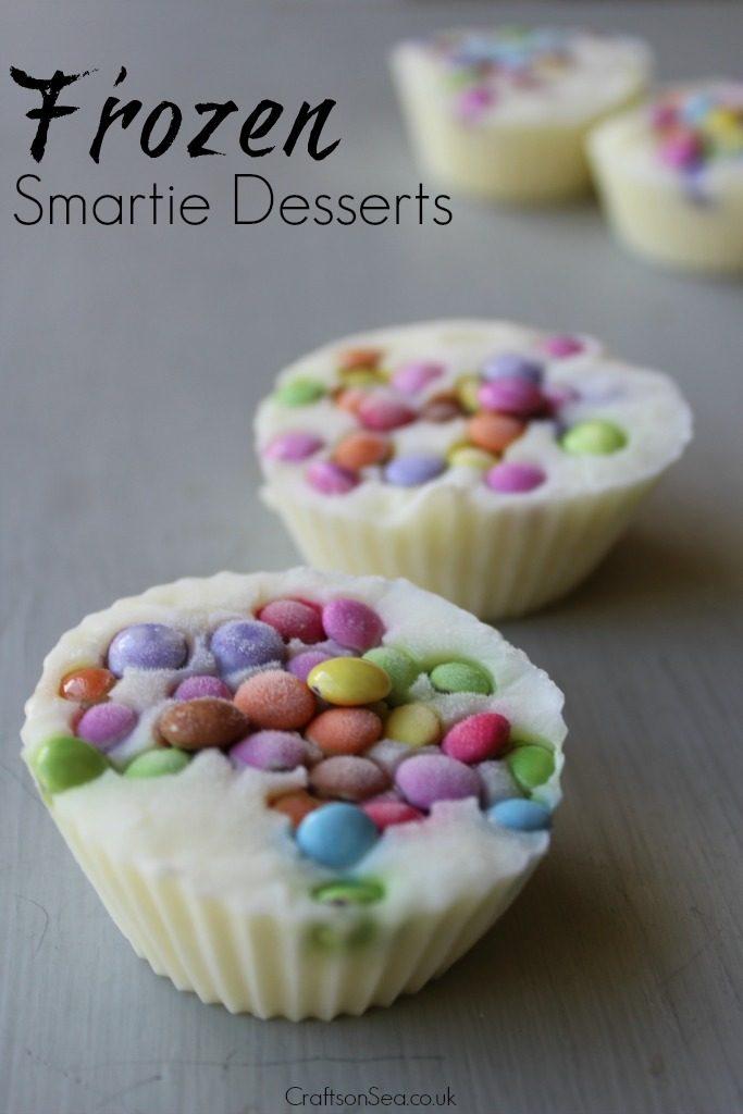 smartie desserts