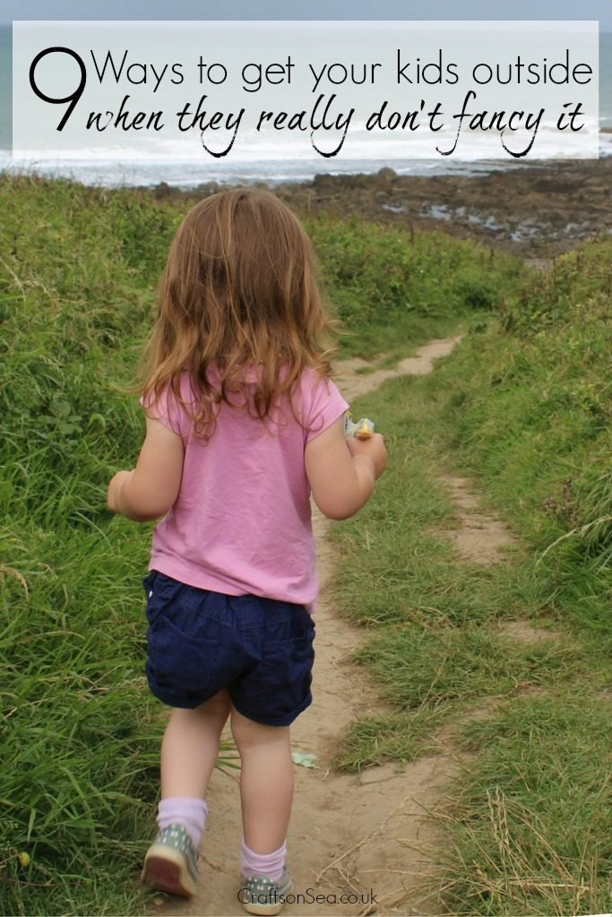 9 ways to get your kids outside when they dont fancy it
