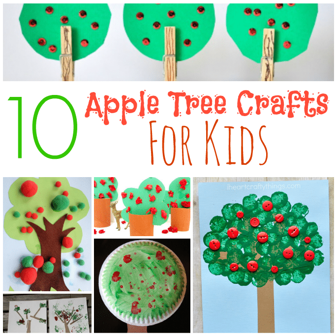 apple tree craft ideas