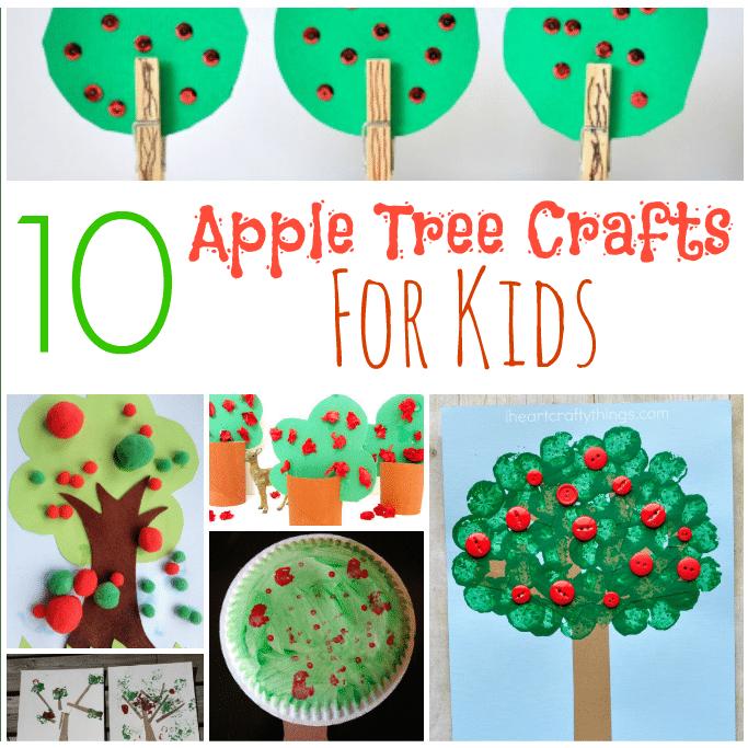 apple tree craft ideas