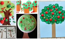 Super Cute Apple Tree Crafts For Kids
