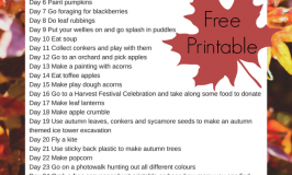 A Month of Fun Autumn Activities for Kids
