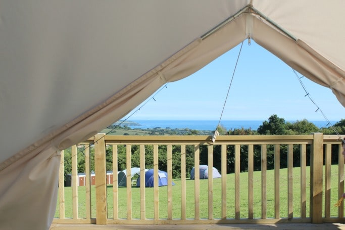 eden project bell tent review