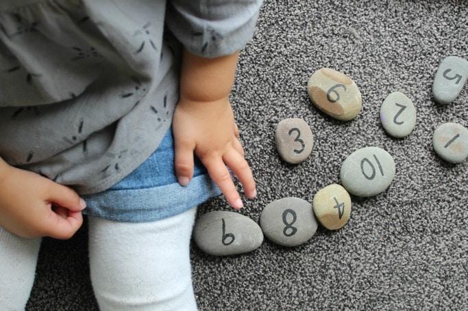 number stones tutorial