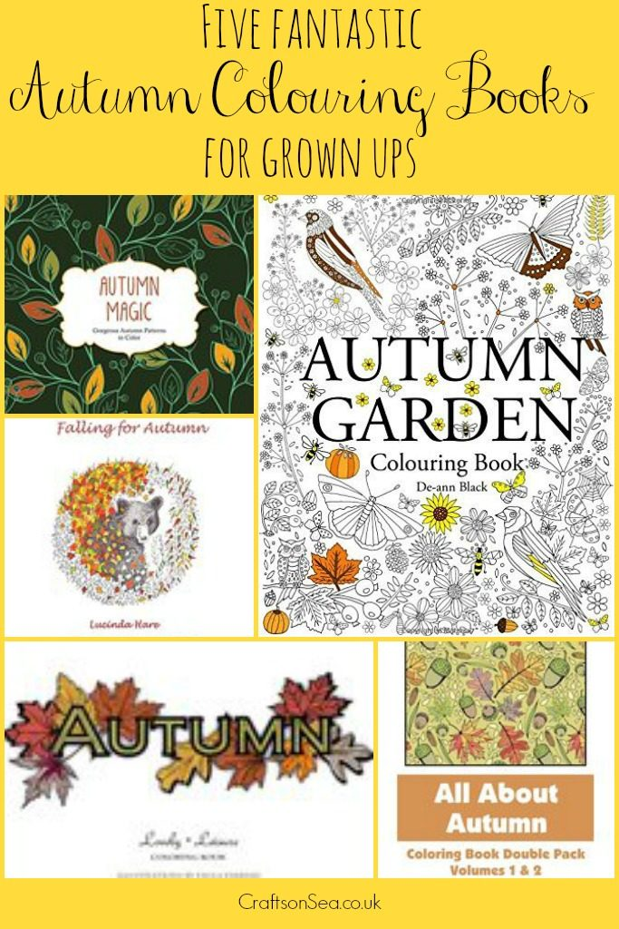 autumn colouring for adults