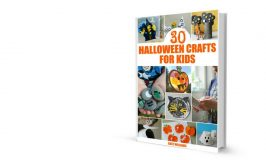 30 Halloween Crafts for Kids: New Book!