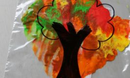 Mess Free Autumn Tree Craft