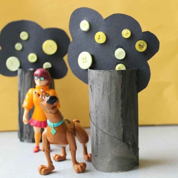 Spooky Forest Kids Halloween Craft Crafts On Sea