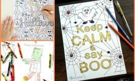 50+ Free Halloween Colouring Pages for Kids