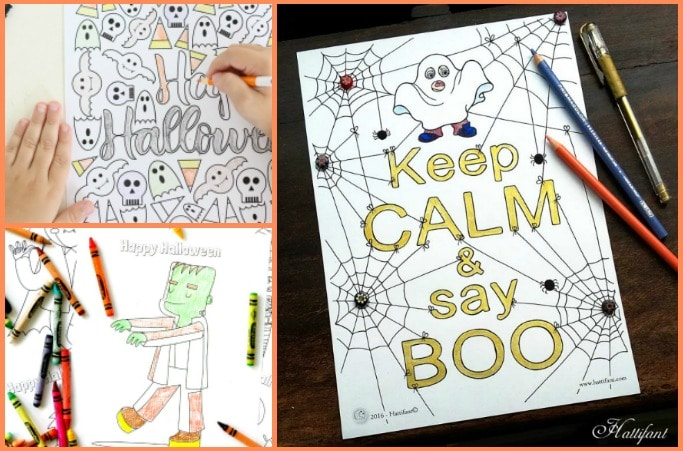 50 Free Halloween Colouring Pages For Kids