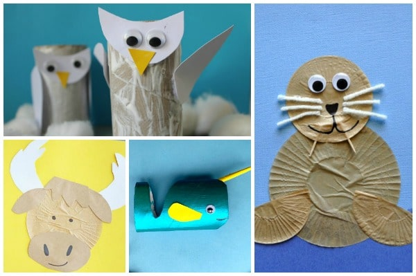 arctic animal crafts