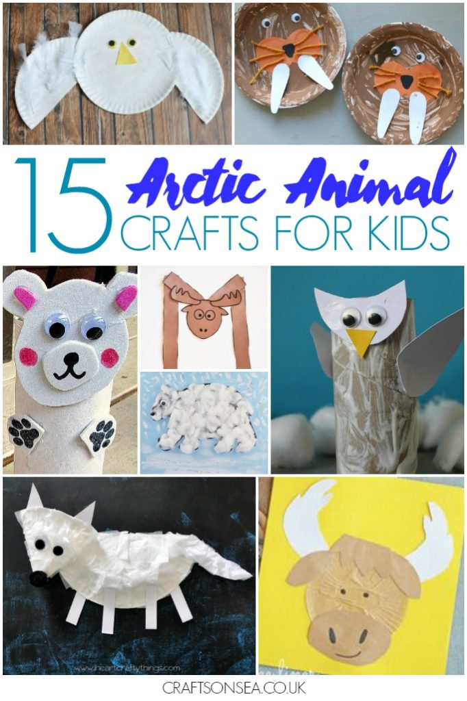 Arctic animals crafts for kids - photo#5