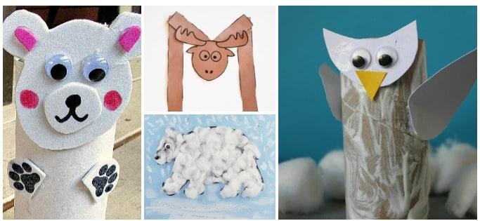 15 arctic animal crafts for kids
