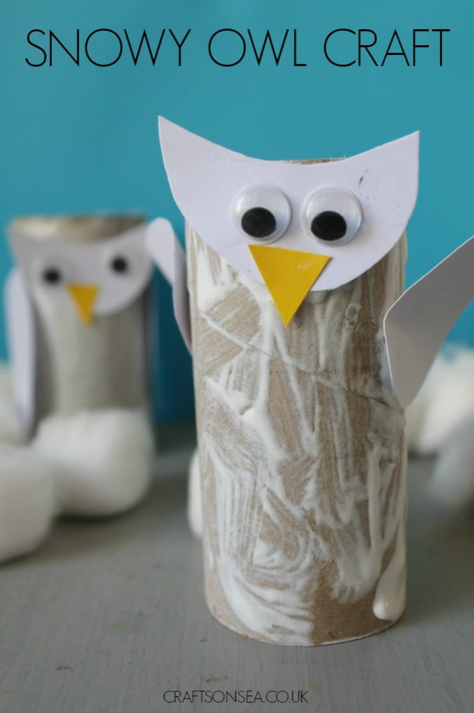 Snowy Owl Craft - Crafts on Sea - photo#43