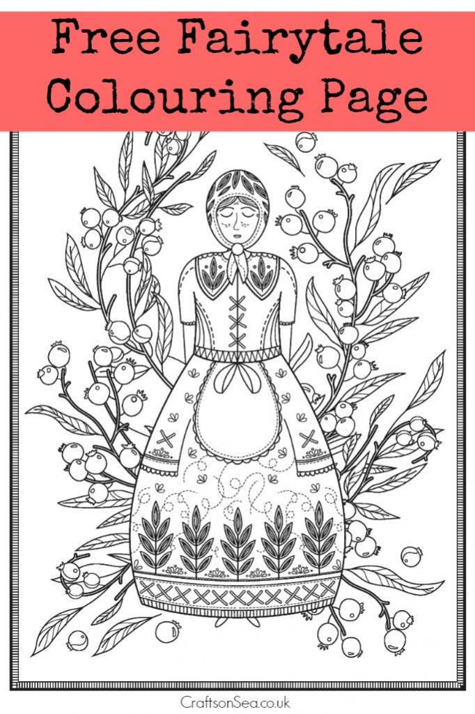 h c andersen coloring pages - photo #1