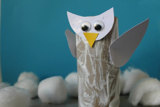 kids-snowy-owl-craft