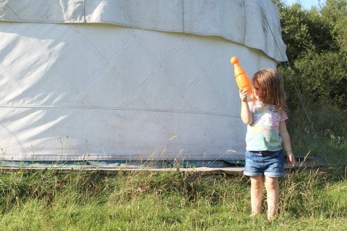 glamping cornwall families