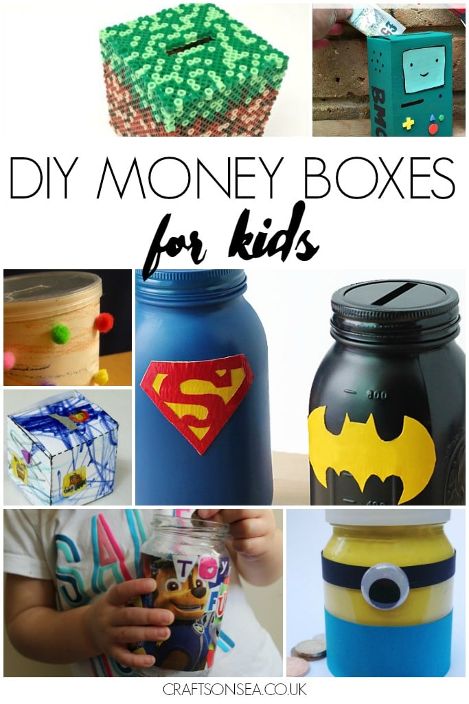 DIY money box ideas