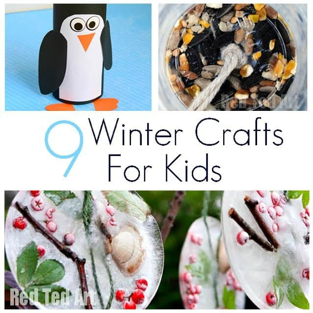 Winter Crafts To Make With Kids