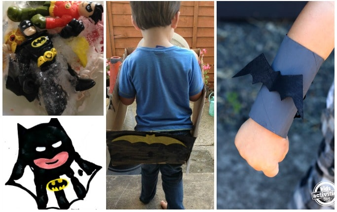 batman crafts and activities for kids