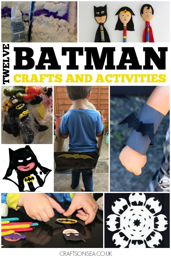 batman crafts and activities