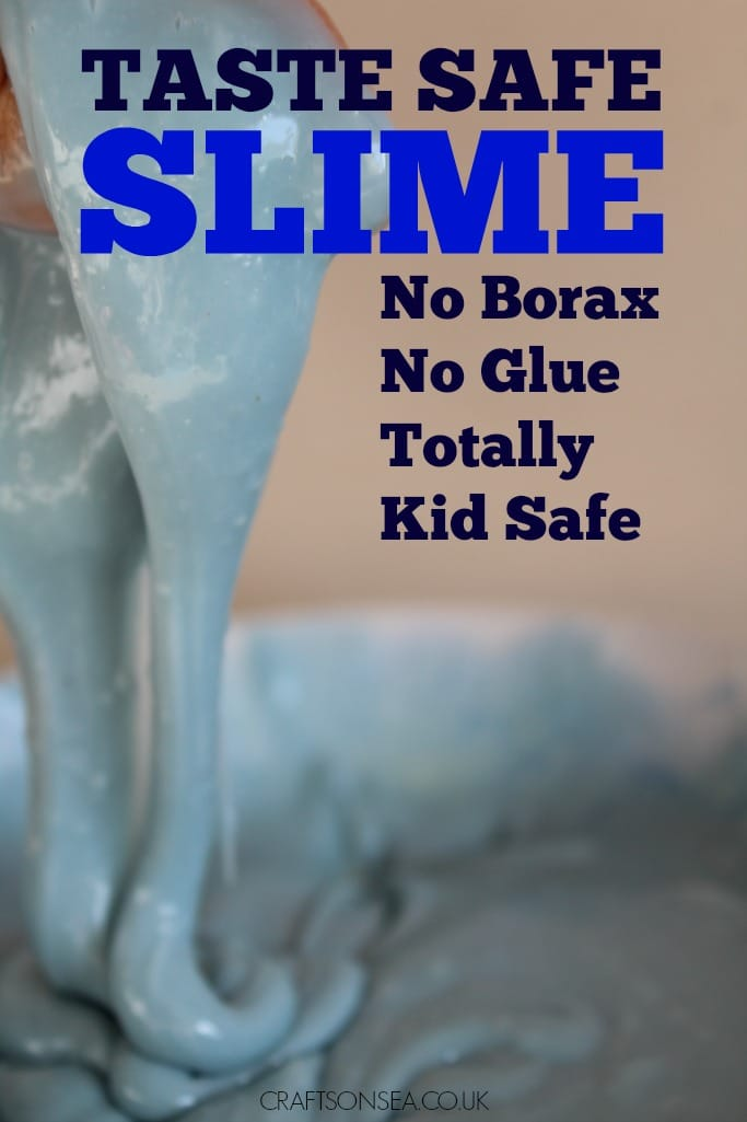how to make slime uk taste safe