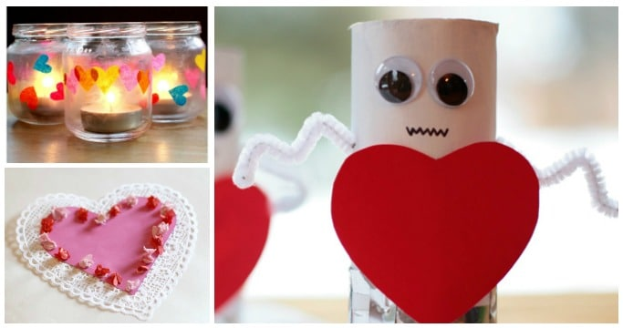 VALENTINES CRAFTS 3 YEAR OLDS CAN MAKE