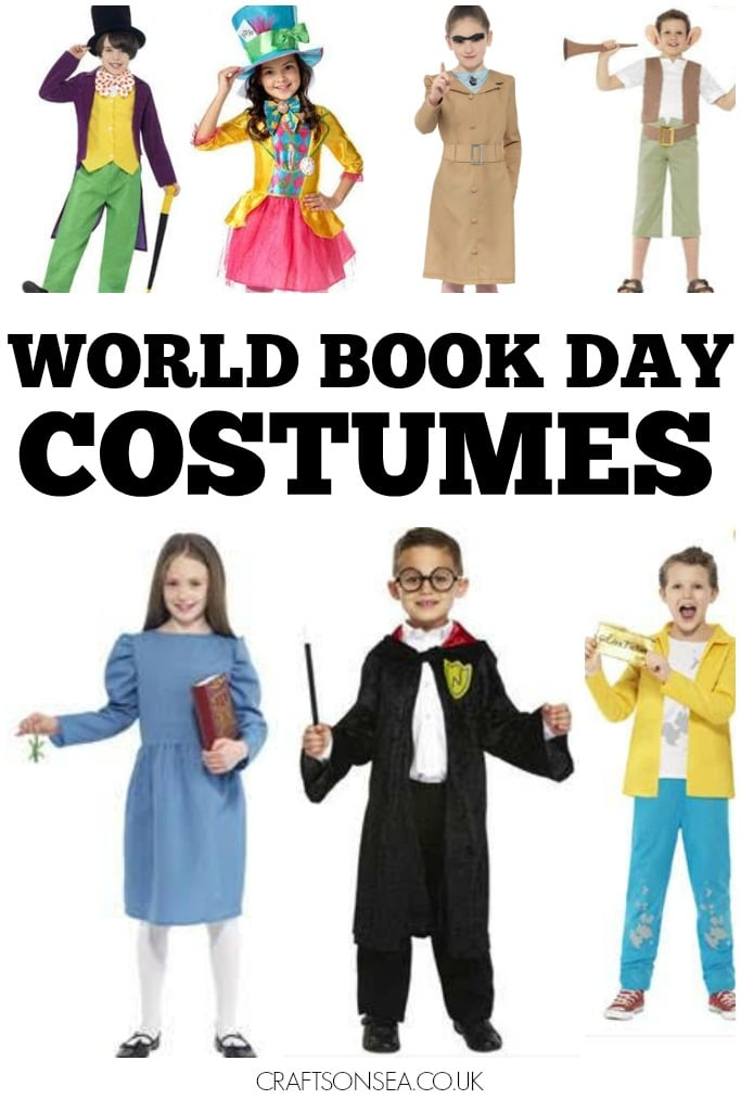 WORLD BOOK DAY COSTUMES TO BUY