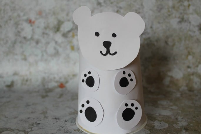 CLIMATE CHANGE ANIMALS CRAFT POLAR BEAR