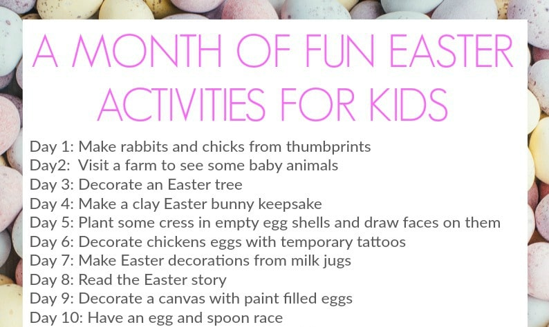 EASTER ACTIVITIES FOR KIDS PRINTABLE poster cropped