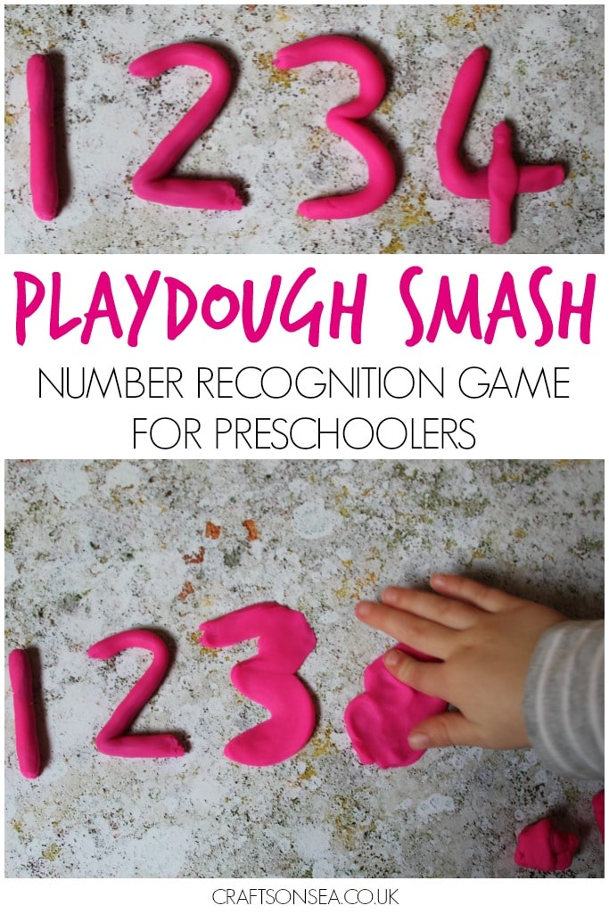 NUMBER RECOGNITION GAME FOR PRESCHOOLERS